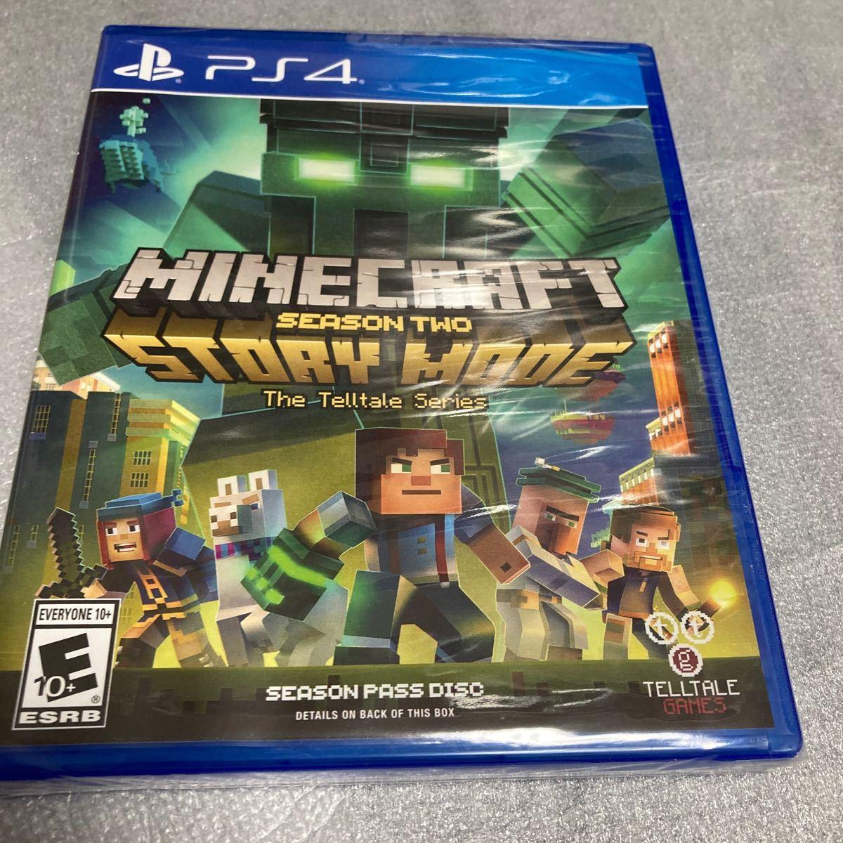 北米版 minecraft story mode ps4