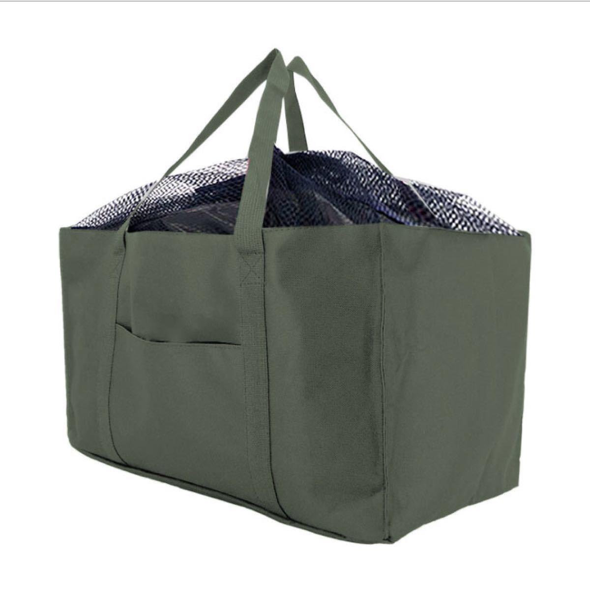 エコバッグ レジカゴバッグ 大容量 ショッピングバッグ