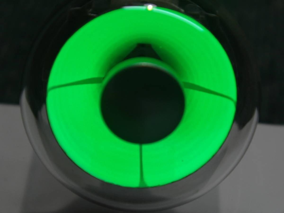 ● ラジオの真空管、マジックアイ 6E5 未使用品 発光輝度、開閉テスト済の1本です ●  S601