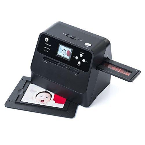 イーサプライ フィルム&写真スキャナー 高画質3200dpi ネガフィルム/ポジフィルム対応 SD保存 バッテリー内蔵 _画像10