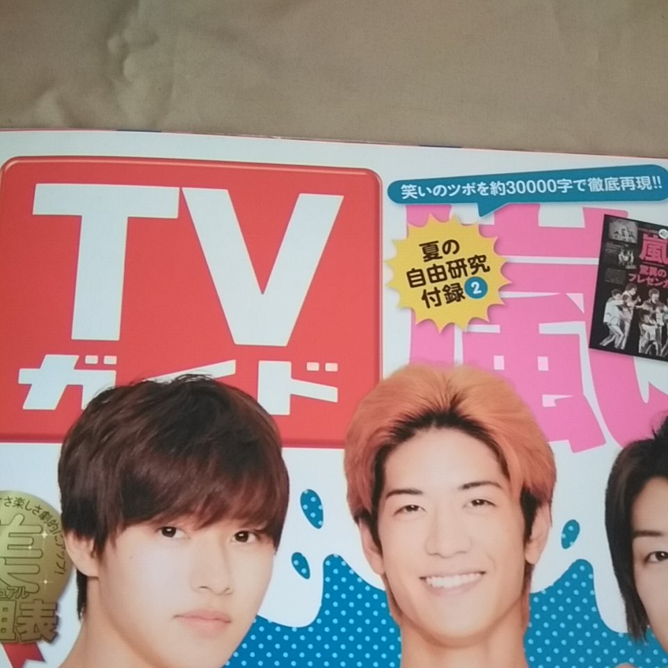 TV ガイド 2014年 7月 テレビ 山田涼介 山崎賢人 水球ヤンキース