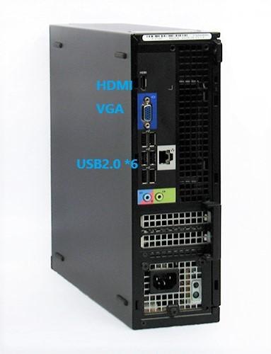 ■驚速 小型 省スペースPC DELL i7-3770 3.9G x8/16GB■新品SSD:480GB Win10 Pro Office2019 追加 USB3.0.無線LAN■OPTIPLEX 3010 SFF-5_画像2