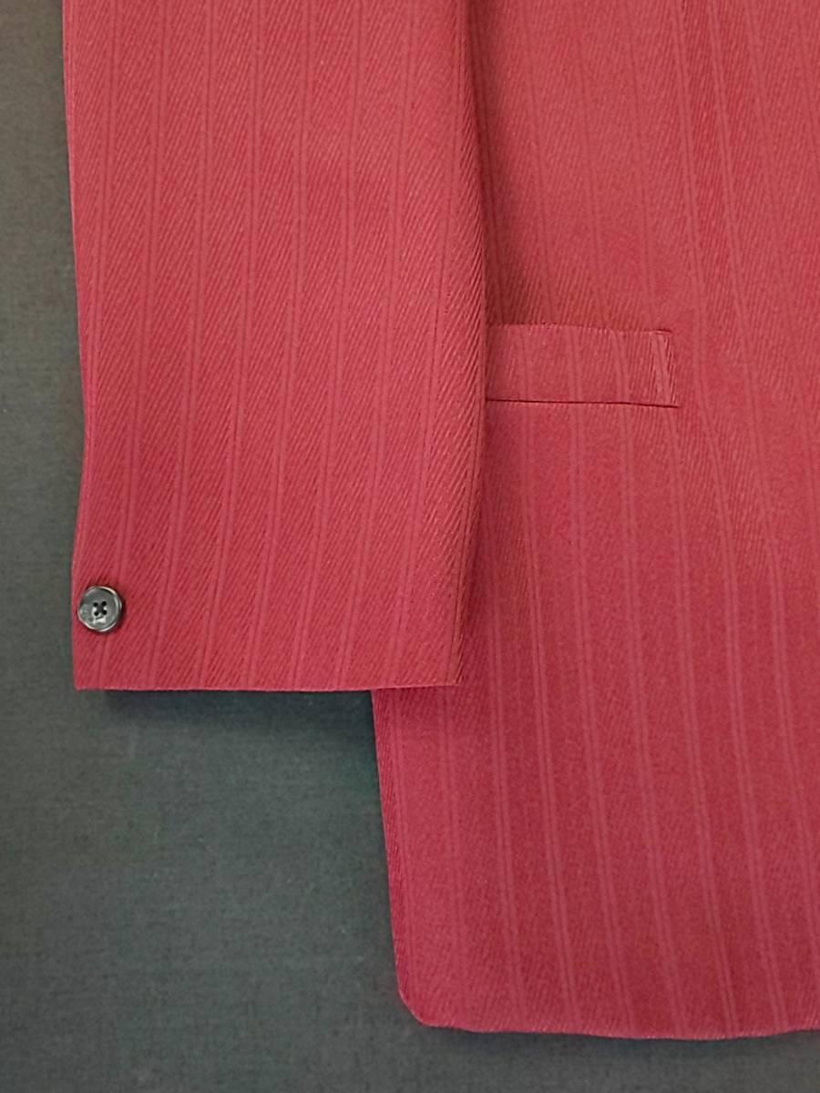 新品 SALE!! 特別価格!! 送料無料 l'garage マオカラースーツ ツータック Lサイズ ゆったり パーティー 結婚式 ステージ衣装 54516-3 _画像5