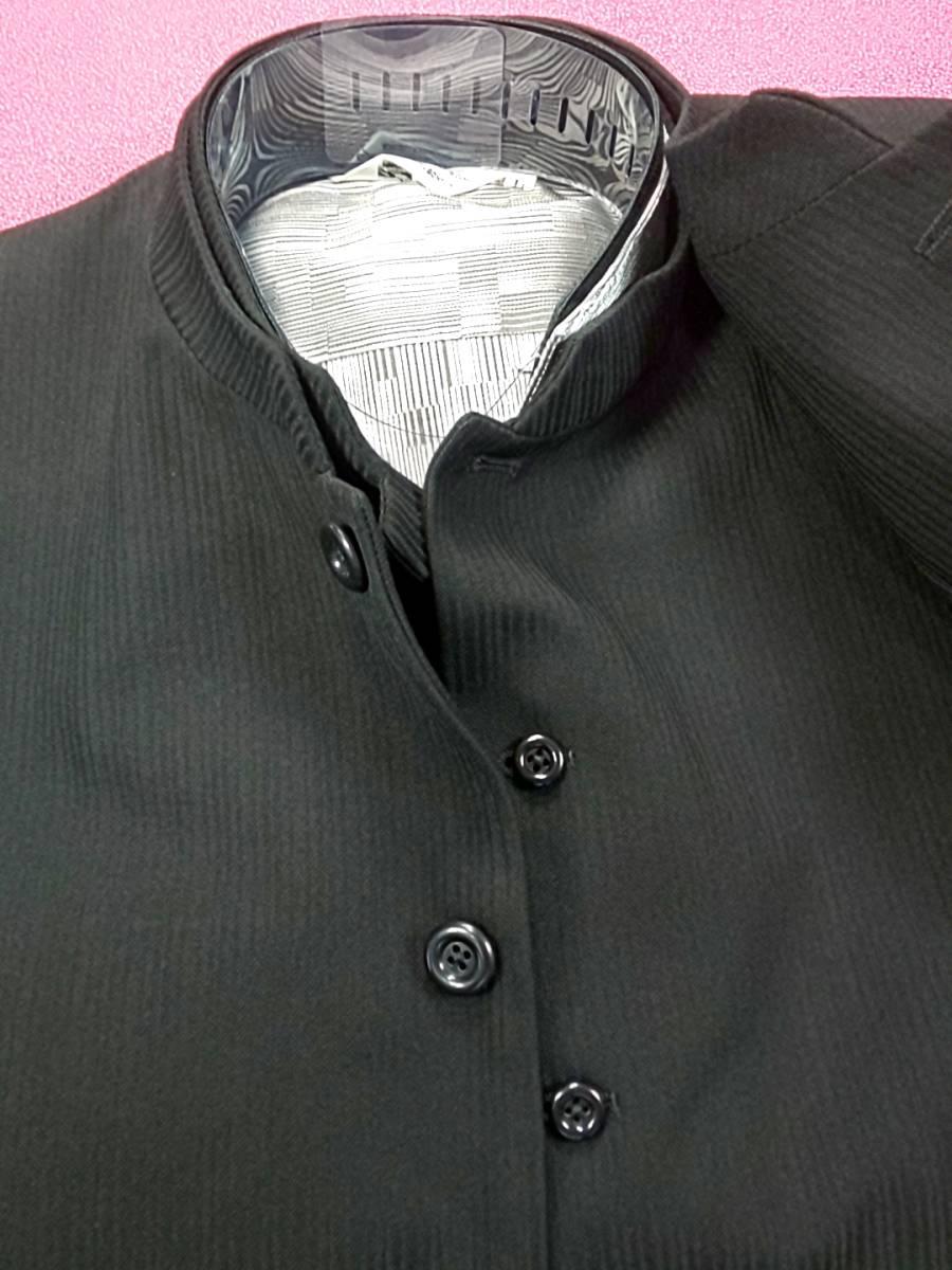 新品 SALE!! 送料無料 l'garage スリーピース マオカラースーツ スリータック LLサイズ ゆったり パーティー 結婚式 ステージ衣装 4014-3 _画像3