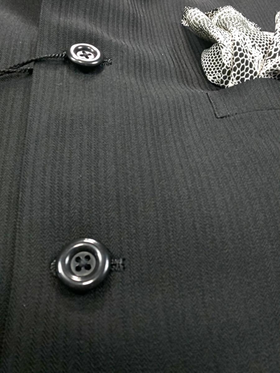 新品 SALE!! 送料無料 l'garage スリーピース マオカラースーツ スリータック LLサイズ ゆったり パーティー 結婚式 ステージ衣装 4014-3 _画像5