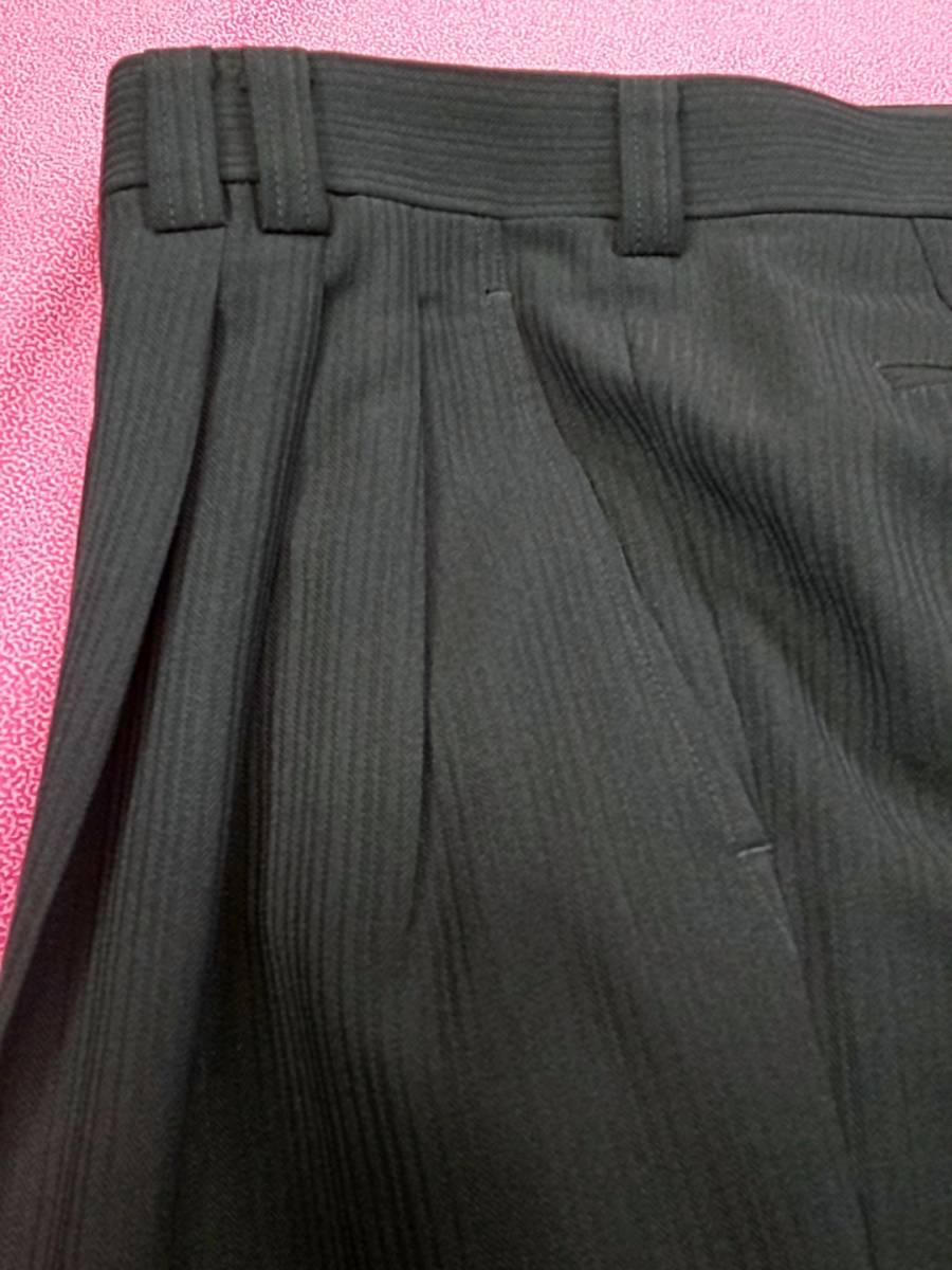 新品 SALE!! 送料無料 l'garage スリーピース マオカラースーツ スリータック LLサイズ ゆったり パーティー 結婚式 ステージ衣装 4014-3 _画像8