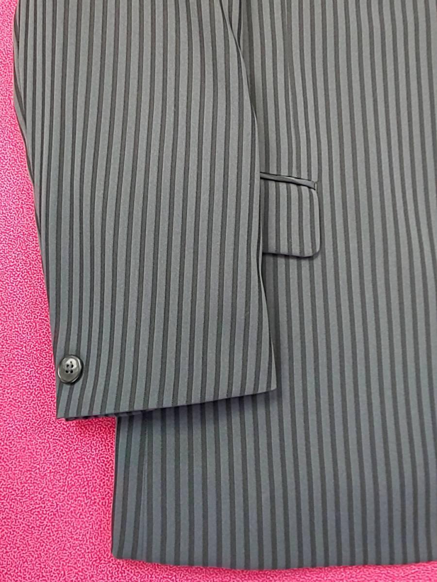 新品 SALE!! 特別価格!! 送料無料 l'garage マオカラースーツ スリータック LLサイズ ゆったり パーティー 結婚式 ステージ衣装 54110-1 _画像7