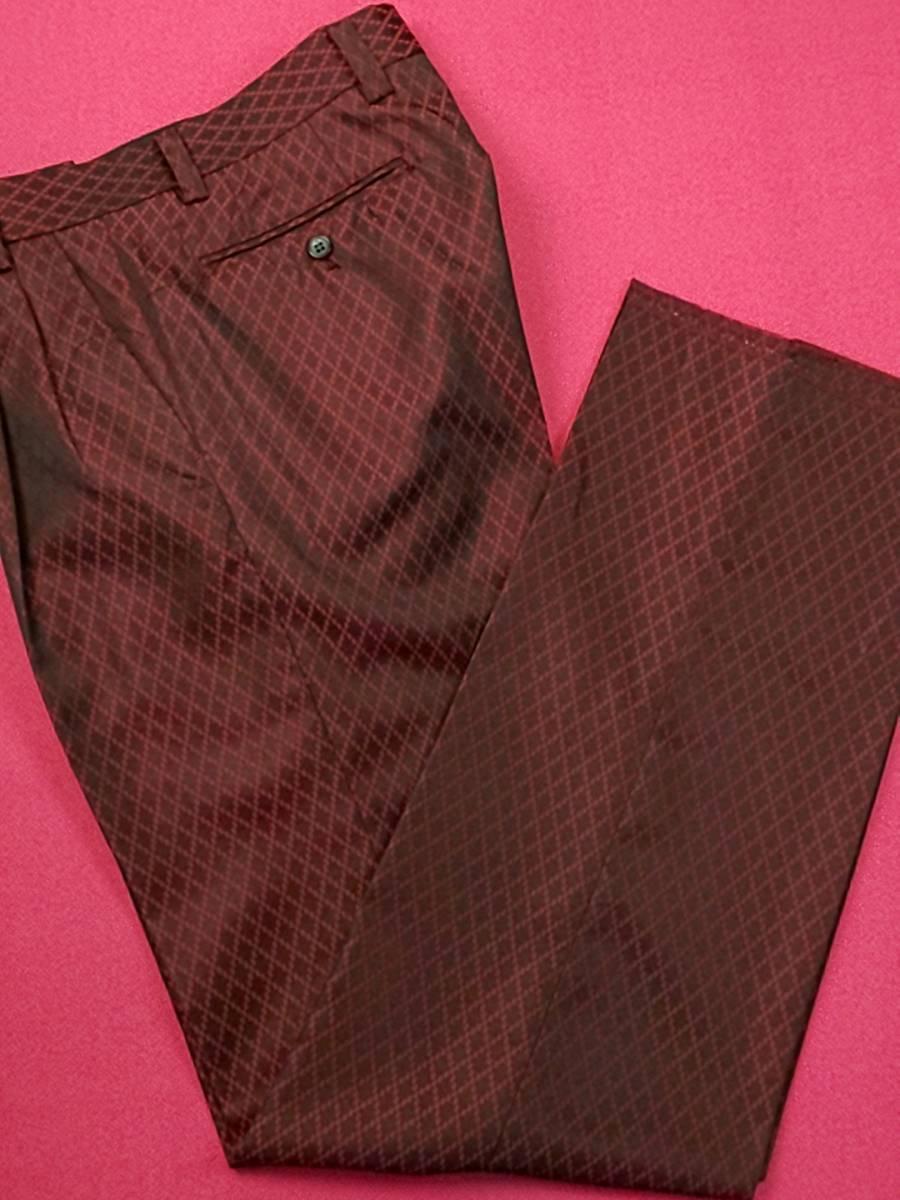 新品 SALE!! 特別価格!! 送料無料 l'garage マオカラースーツ ツータック Mサイズ ゆったり パーティー 結婚式 ステージ衣装 74504-2 _画像7