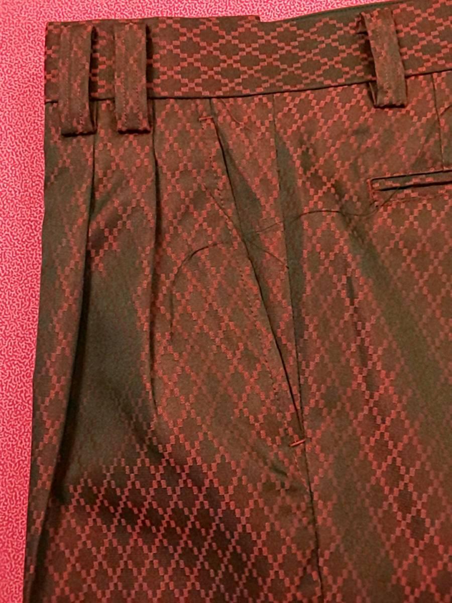 新品 SALE!! 特別価格!! 送料無料 l'garage マオカラースーツ ツータック Mサイズ ゆったり パーティー 結婚式 ステージ衣装 74504-2 _画像8