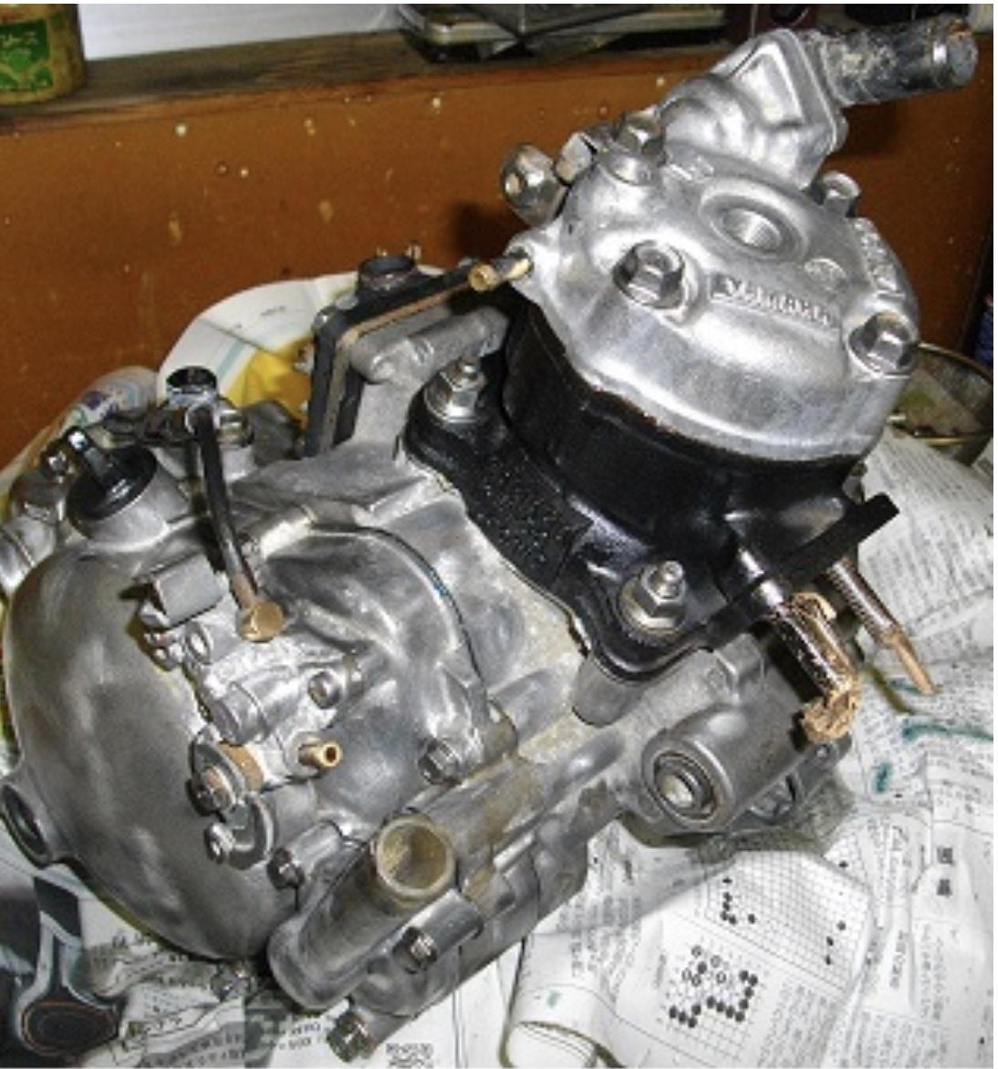 「TZM50 4KJ フルオーバーホール済みエンジン tzrysr3tu」の画像1