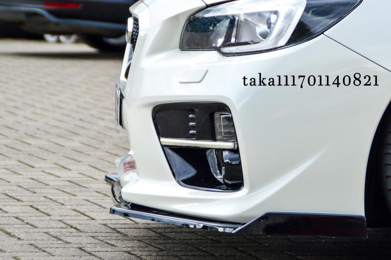 スバル WRX S4/ STI VA系 フロント リップ スポイラー / アンダー スプリッター フラップ エプロン ディフューザー カナード スカート_画像3