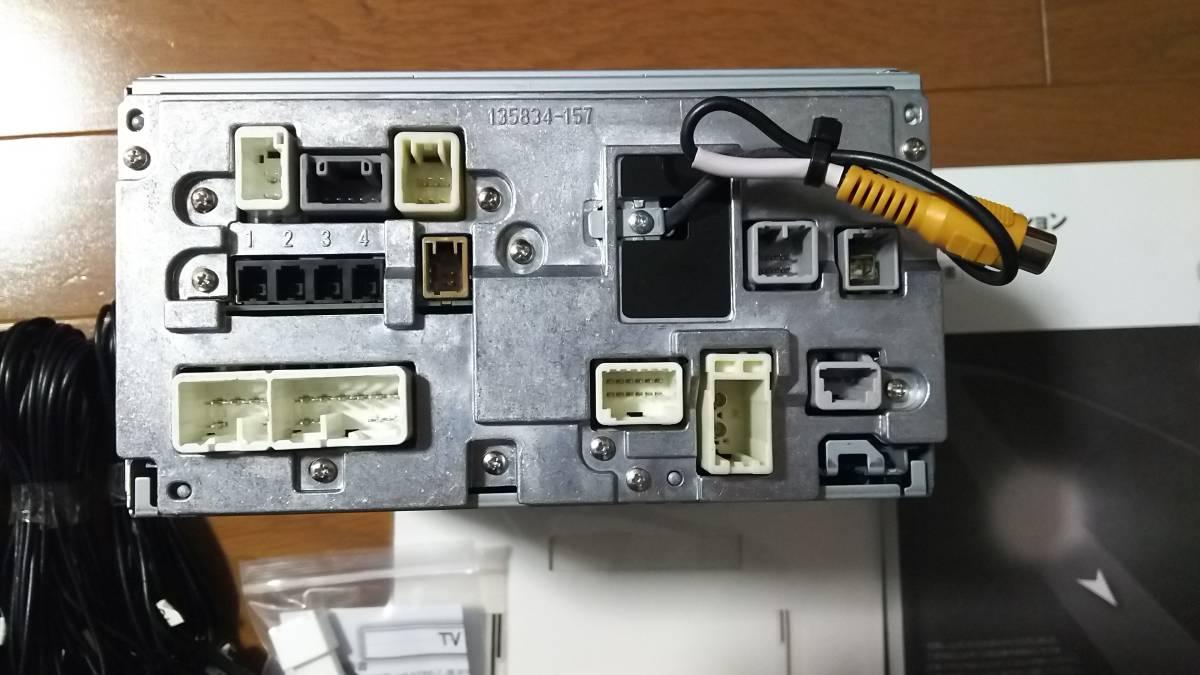 トヨタ純正 美品 アクア SDナビ NSZT-W64 動作確認済み 新品フィルムアンテナ テレビキット 地デジ Bluetooth DVD 即使用可能_画像9