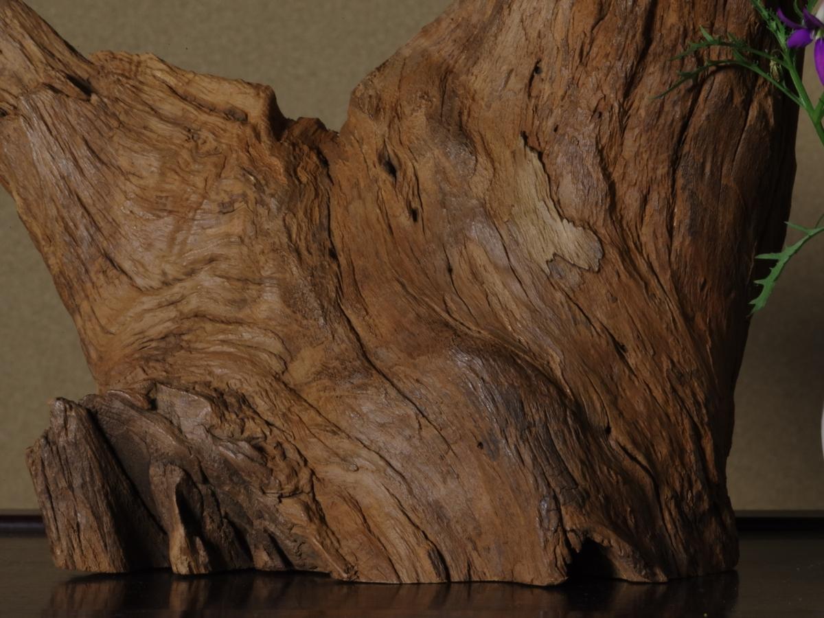 立峰沈水沈香木(1907g)(再出品)(伽羅 沈香 香木 お香)(樹脂化量多く完全沈水します)(セキュリティ便無料配送対象商品)_画像6