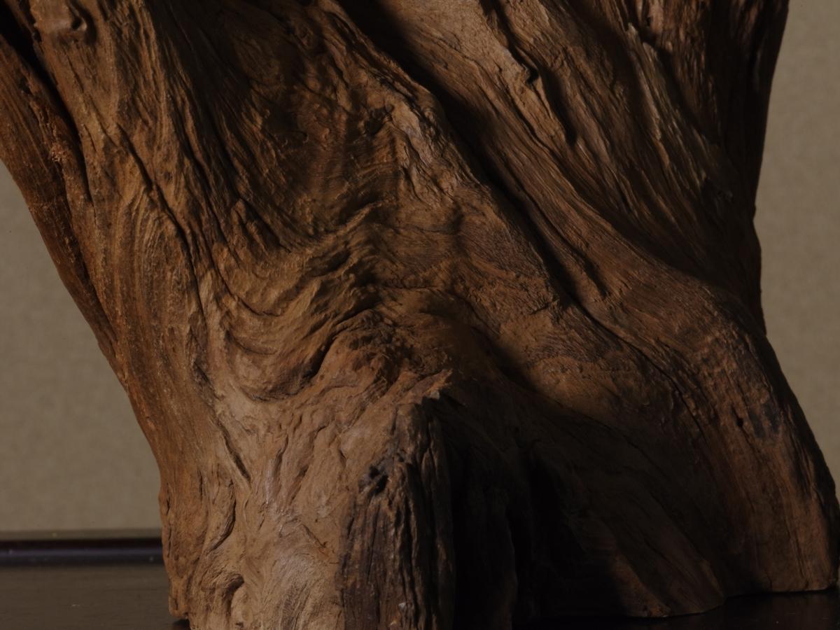 立峰沈水沈香木(1907g)(再出品)(伽羅 沈香 香木 お香)(樹脂化量多く完全沈水します)(セキュリティ便無料配送対象商品)_画像9