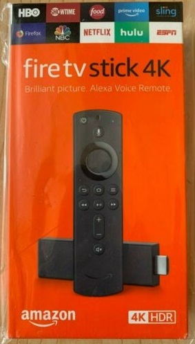 Amazon Fire TV Stick 4K - Alexa 対応音声認識リモコン付属 未使用 (Ref#e20)