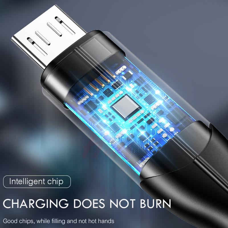 【送料120円】 アンドロイド端末ケーブル 急速充電 高速データ転送 QuickCharge3.0対応 マイクロUSB⇔USBケーブルにおまけ付きでType-Cにも_画像5