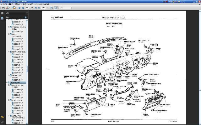 日産旧車パーツカタログVer.Ⅲ フェアレディZ 240ZG Z432 S30Z HS30 PS30 L28 L24 L20 S20エンジン 旧車部品検索 NISSAN ダットサン DATSUN_画像9