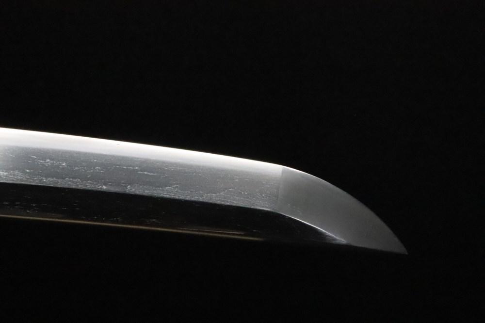 (AL-57)刀◆銘文「吉長(小山関)美濃千手院」◆古刀◆室町時代◆日本美術刀剣保存協会鑑定書付_画像5