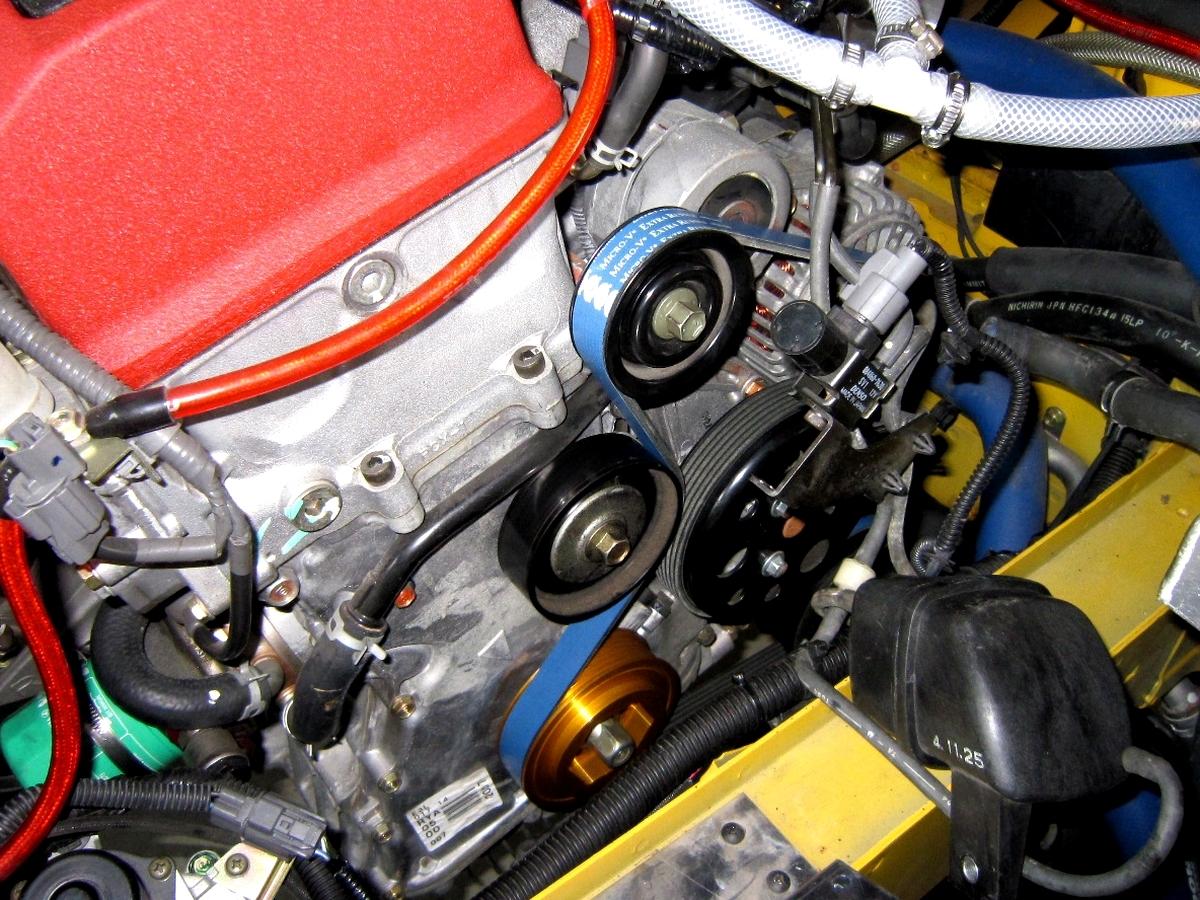 レーシングプーリー S2000 AP1 AP2 径変更バージョン 全域アップ!仕様_画像1