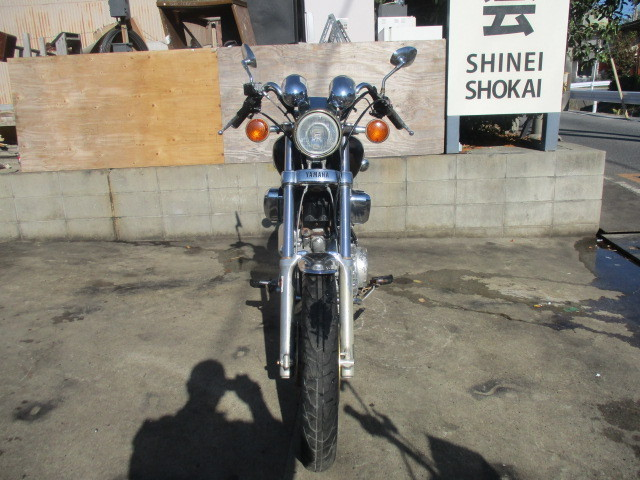 「▲7084▲ヤマハ XV750ビラーゴ ( VIRAGO 750) 55R ブラウン 部品取り車 愛知」の画像3