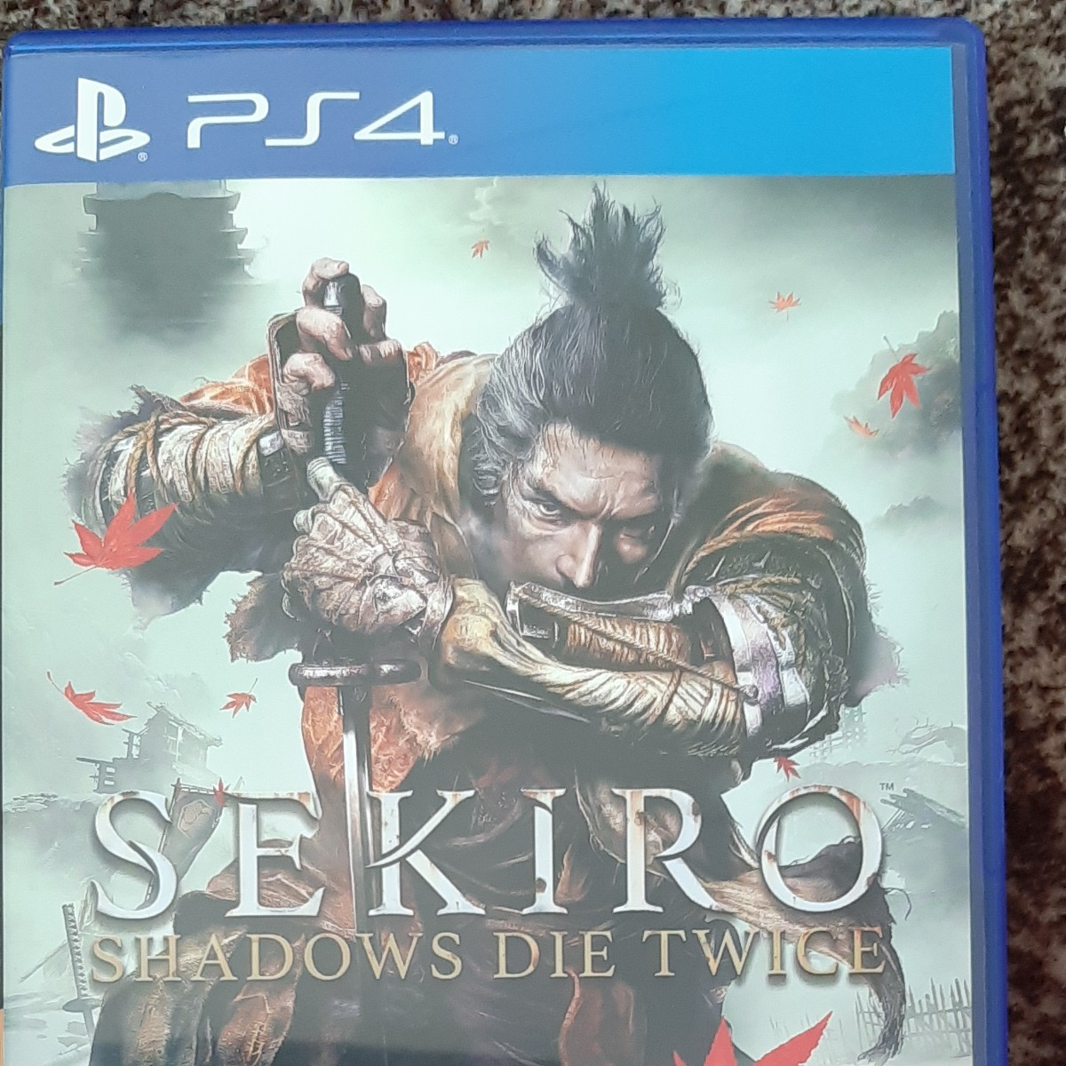 SEKIRO SHADOWS DIE  TWICE  PS4ソフト