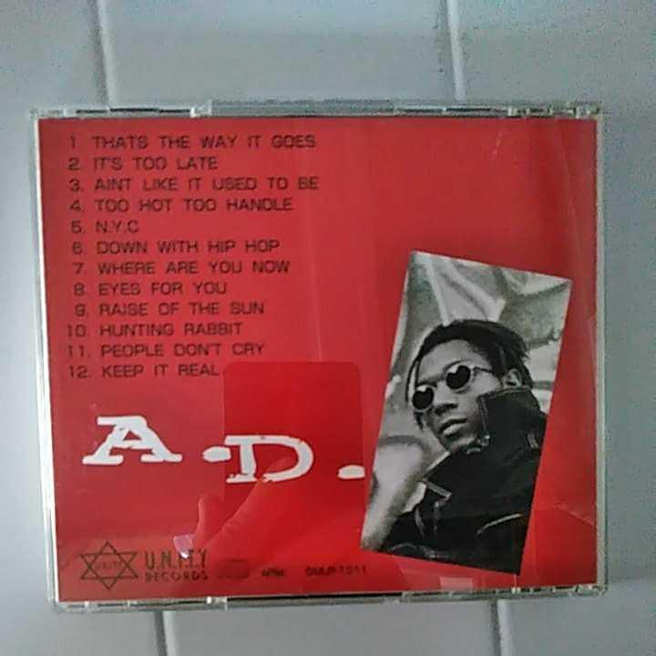【hip-hop / Rap / 送料込み】A.D