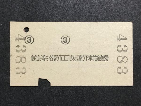 古い切符*常陸多賀 から 東京山手線内 ゆき 松戸 経由 1700円 常陸多賀駅発行*昭和55年*国鉄 鉄道 資料_画像2