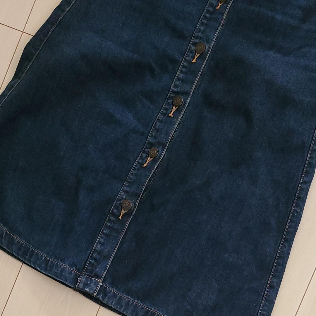 デニムスカート GU UNIQLO タイトスカート ロングスカート