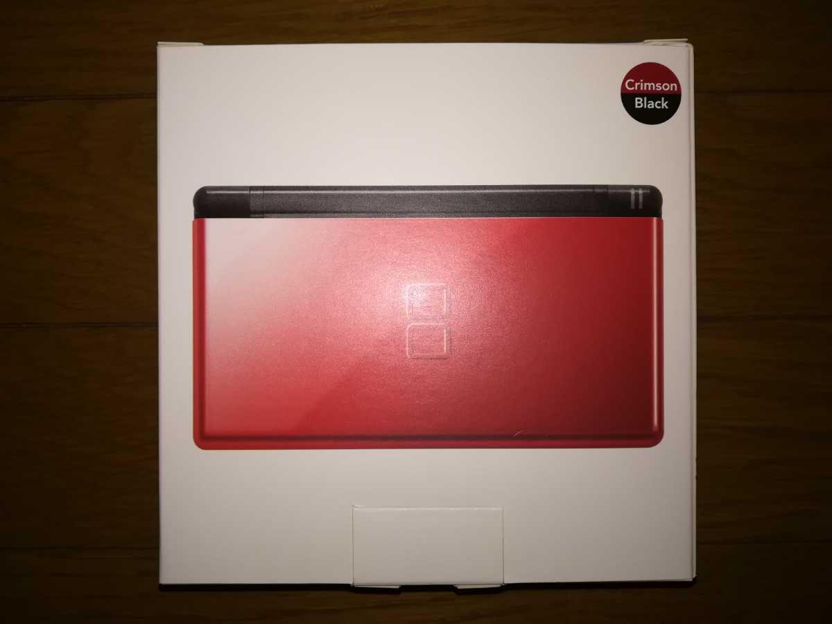 ニンテンドー DS Lite 本体 クリムゾン/ブラック 新品・未使用