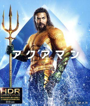 アクアマン(ブックレット&キャラクターステッカー付)(4K ULTRA HD+Blu-ray Disc)_画像1