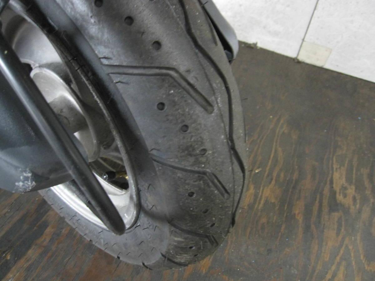 「ホンダ スペイシー125 JF04 前後新品タイヤ シート張替済み 18071km」の画像3