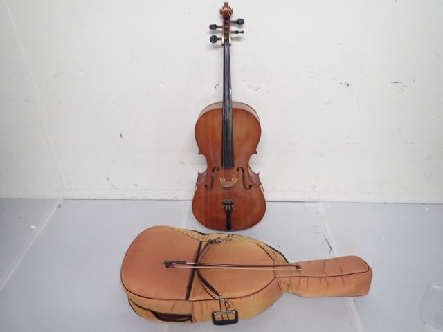 WEI YIN MUSICAL Co. チェロ MAPLE LEAF CELLO 4/4 弓、ソフトケース付き ★ 5DD14-25