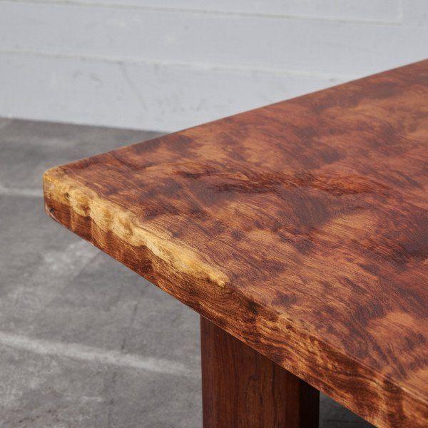 IZ43623O○一枚板 座卓 無垢材 ブビンガ センターテーブル 和室 和家具 ローテーブル 高級 座敷机 応接間 リビング 天然木 和モダン 机_画像3