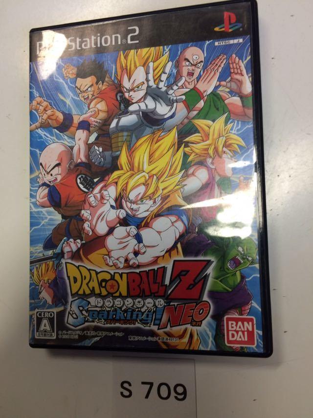 ドラゴンボール Z スパーキング ネオ SONY PS 2 プレイステーション PlayStation プレステ 2 ゲーム ソフト 中古 DBZ_画像1