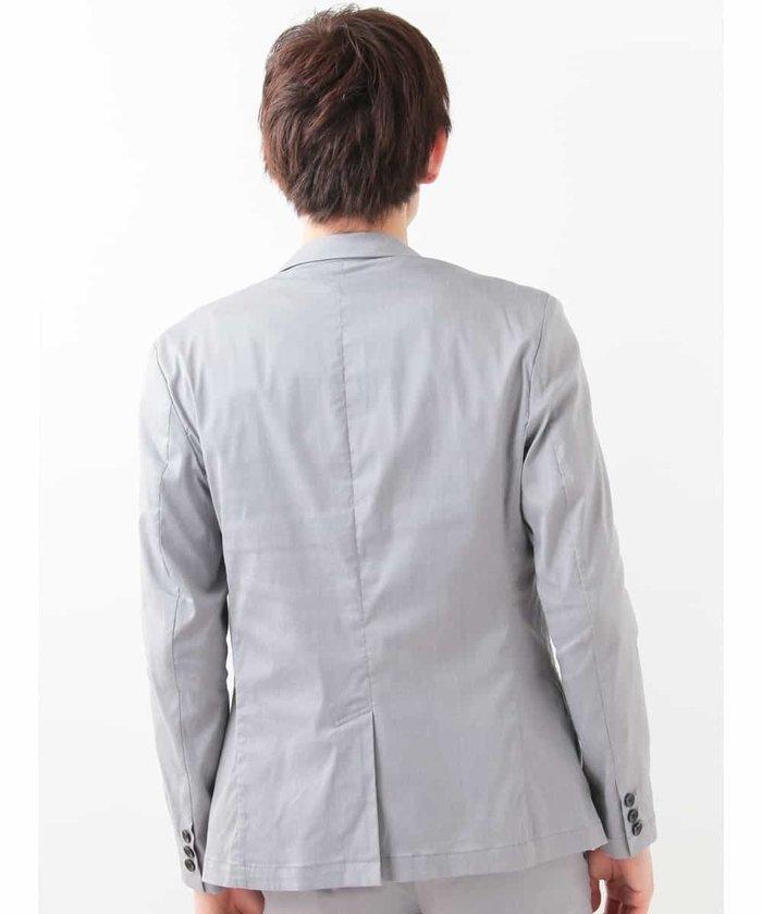 【新品】定価2万 MKミッシェルクランオム ストレッチジャケット グレー サイズ51(XLサイズ相当) [送料無料]_画像3
