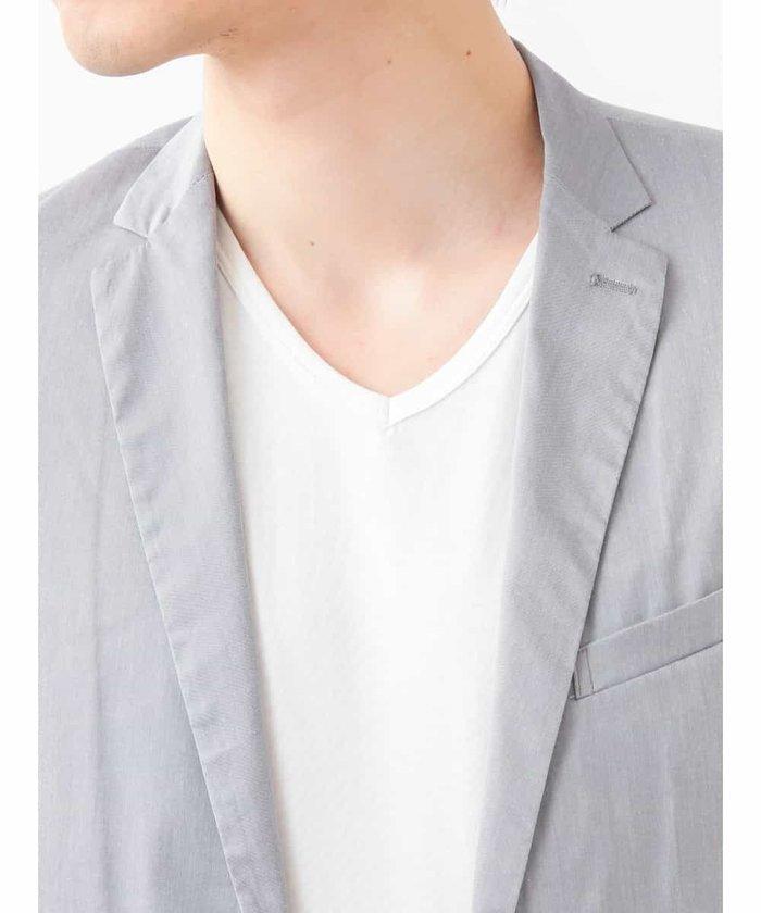 【新品】定価2万 MKミッシェルクランオム ストレッチジャケット グレー サイズ51(XLサイズ相当) [送料無料]_画像4