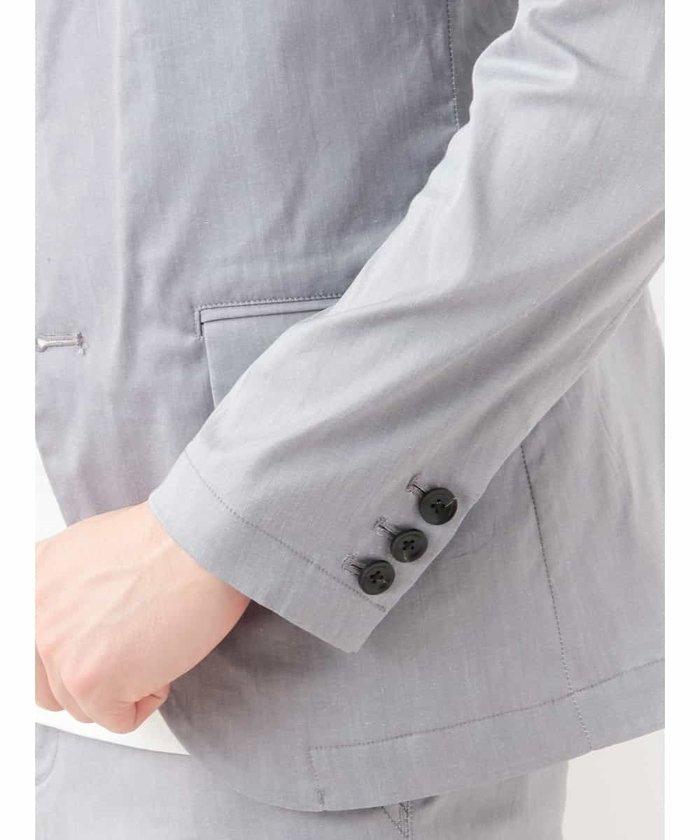 【新品】定価2万 MKミッシェルクランオム ストレッチジャケット グレー サイズ51(XLサイズ相当) [送料無料]_画像5