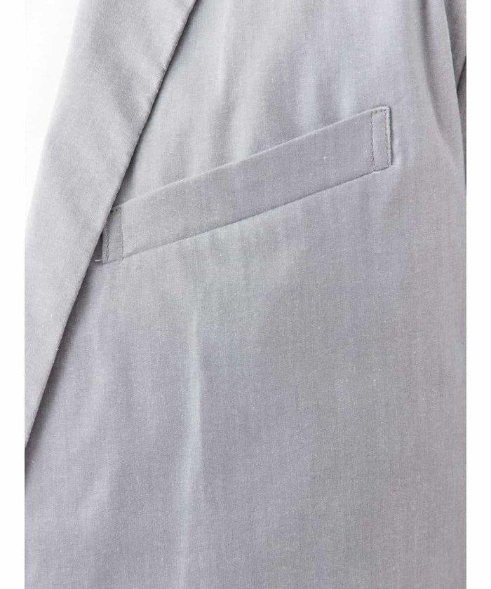 【新品】定価2万 MKミッシェルクランオム ストレッチジャケット グレー サイズ51(XLサイズ相当) [送料無料]_画像7