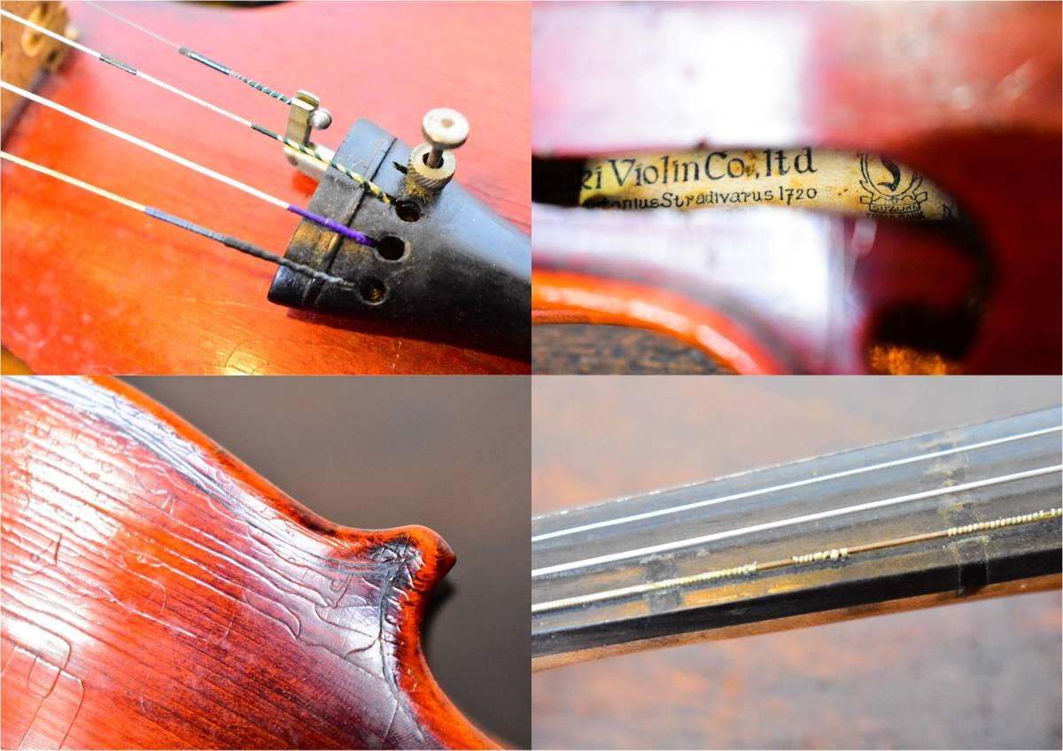 バイオリン / 鈴木バイオリン / サイズ1/4 / ケース付き / 弦楽器 / SUZUKI / 1955年 _画像9