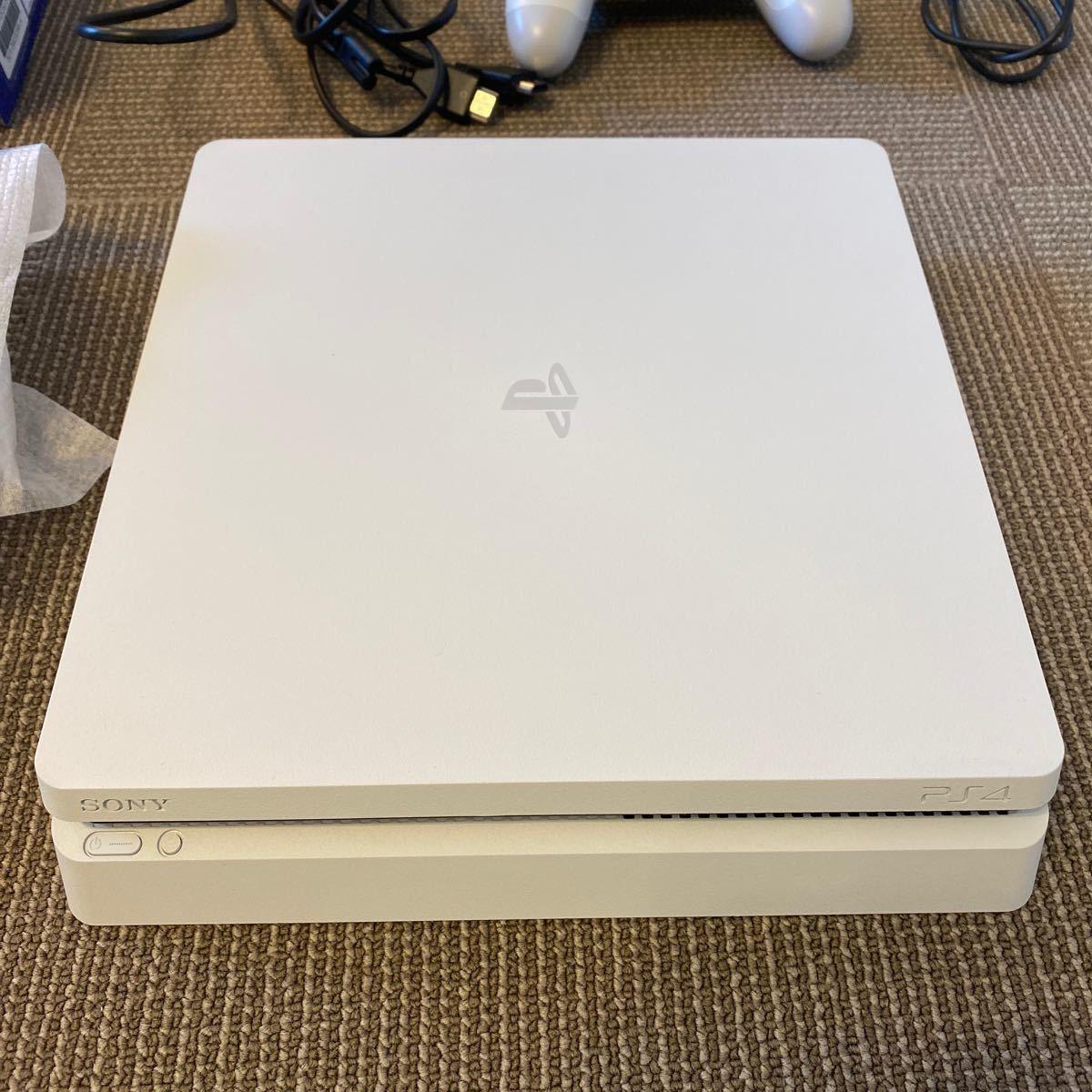 PlayStation4 本体 500G 白 2020年3月購入品 保証期間内