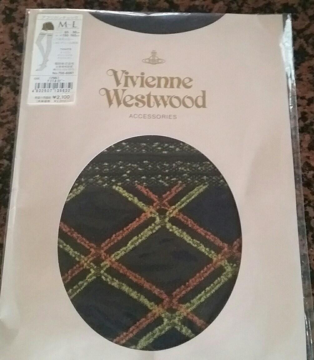 Vivienne Westwood  ヴィヴィアンウエストウッド 柄タイツ