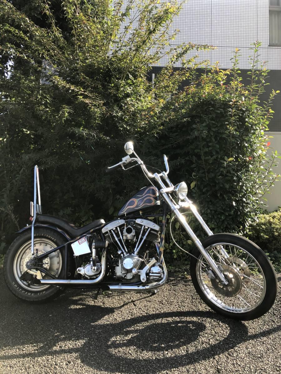 「Harley-Davidson 1979 ショベルリジッド」の画像1