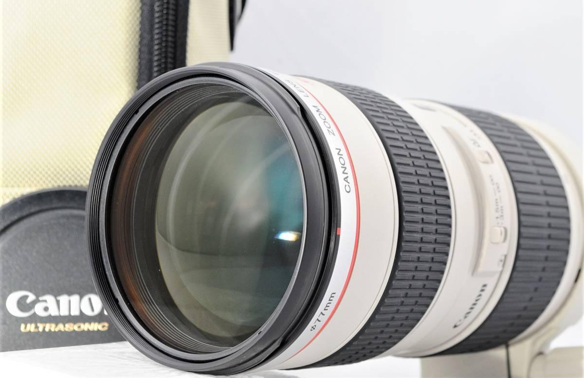 ■極上美品■ キヤノン Canon EF70-200mm F2.8L USM 付属品付! ★綺麗な外観・光学系! 透き通るレンズ!
