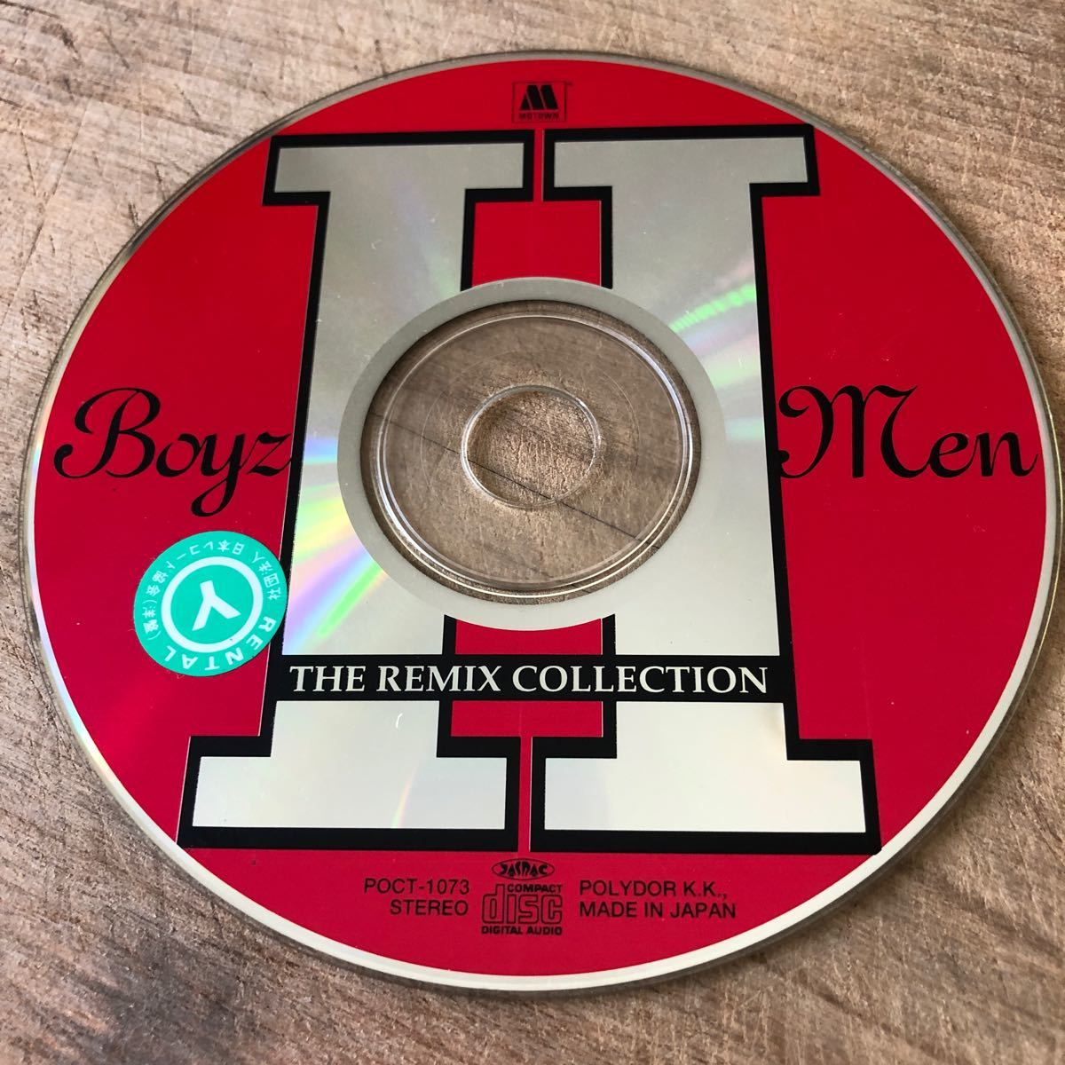 01123 BOYS II MEN   THE REMIX COLLECTION