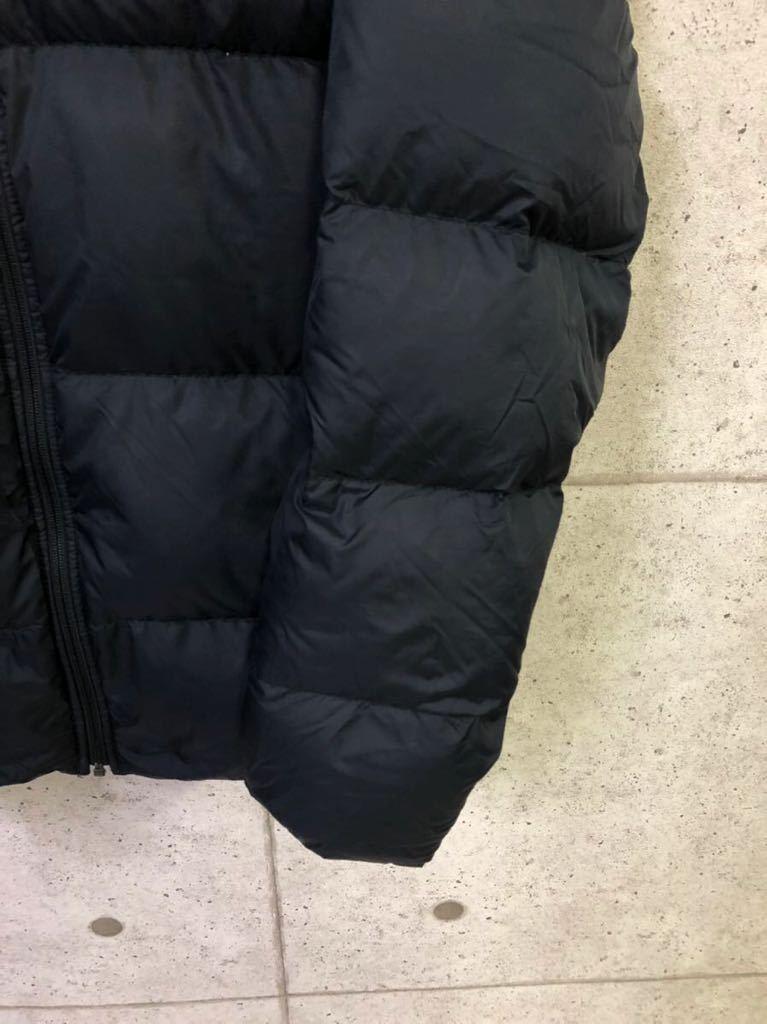 最強防寒! NIKE ナイキ 肉厚 ダウンジャケット ブラック メンズ XLサイズ 普段使いにも!