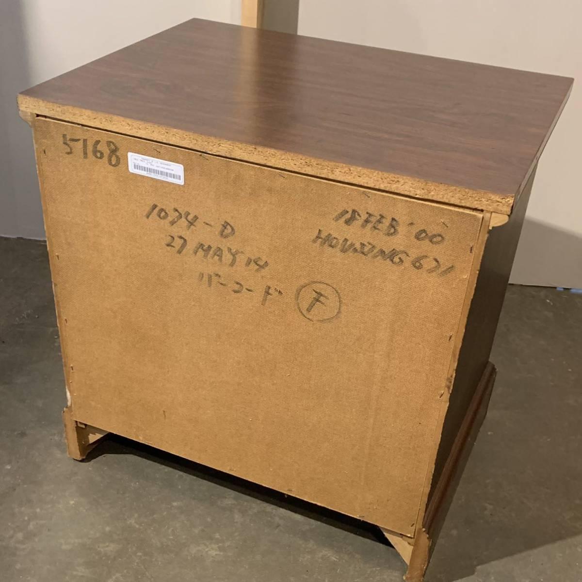 【20112102HT】U.S.A/KIMBALL/night stand/ナイトテーブル/米軍放出品/アメリカ家具/ヴィンテージ/サイドテーブル/輸入家具_画像7