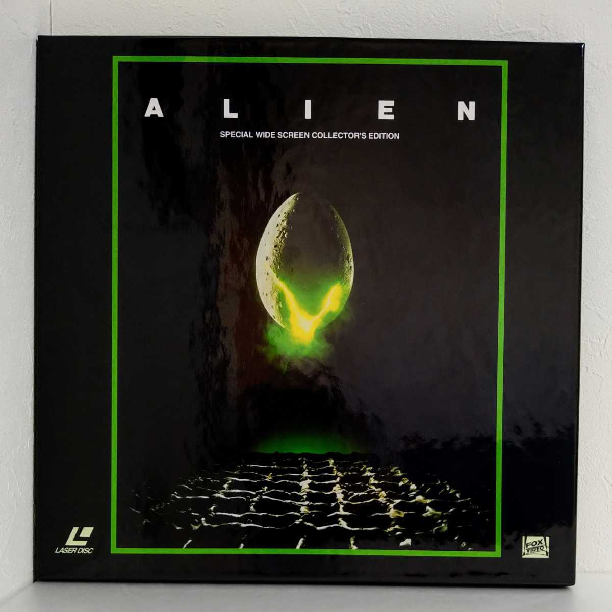 LD BOX 輸入盤 エイリアン 『ALIEN』 Special Wide screen Collector's Edition 3枚組 レーザーディスク_画像1