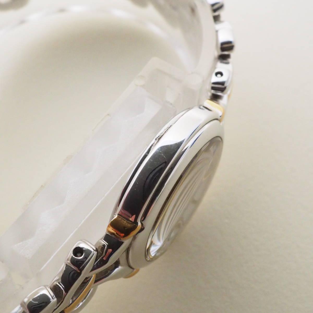 不動美品ジャンク セイコーSEIKO EXCELINE エクセリーヌ 薄型アナログ レディース 4J41-0050 耐磁 QUARTZ 管:20201120-149-1-3_画像4
