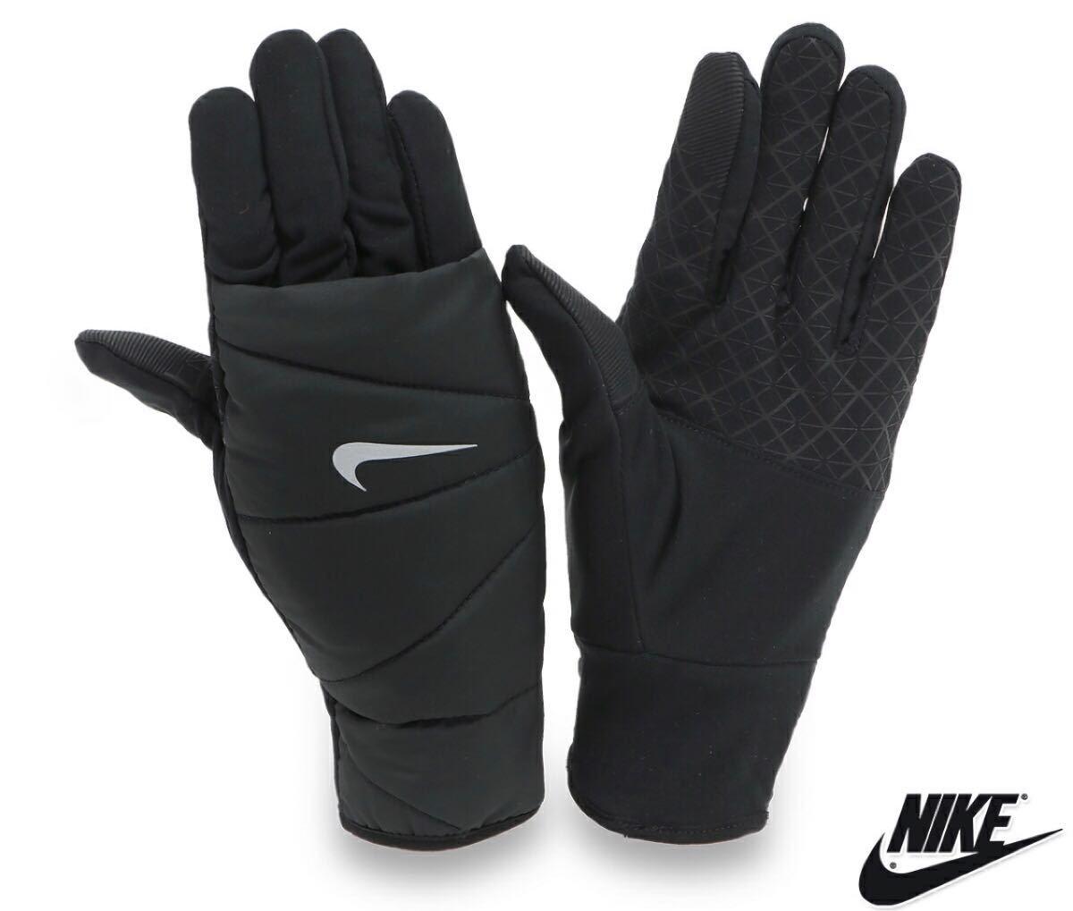 NIKE ナイキ ランニンググローブ 手袋 タッチパネル対応 ラングローブ S