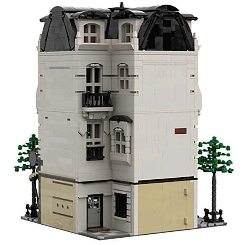 ☆最安値☆ レゴ 互換 パリのビル パン屋 スタジオ マンション 建物 ヨーロッパ 4204ピース_画像3